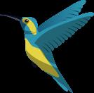 digital art of a bird